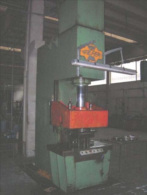 Galfer mpg c 100 t for Pressa idraulica 100 ton usata