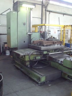 boring machine table type fmbu lic ceruti afd 100 094alsmf