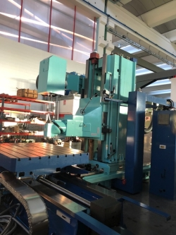 milling machine bed type sachman trt 22 137frsbf